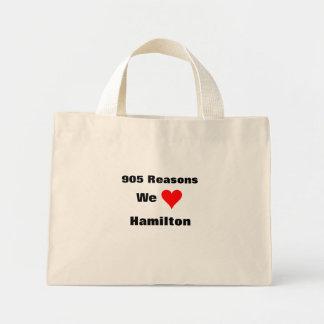 905 resonerar oss älskar Hamilton Mini Tygkasse