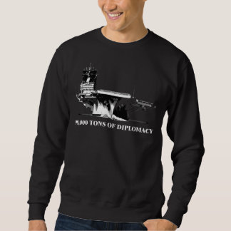 90.000 tons av diplomati sweatshirt