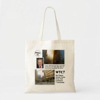911 handtag för sanning WTC7 som det hänger lös Tygkasse