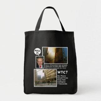 911 handtag för sanning WTC7 som det totot hänger  Tygkasse