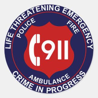 911 klistermärke 2
