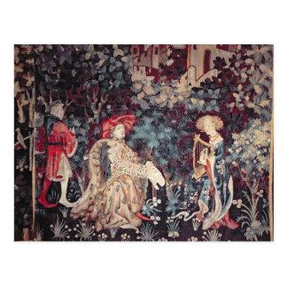 930 konserten, Tapestry från arrasen, 1420 Vykort