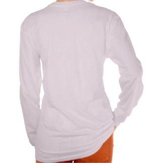 """""""98,76%"""" schimpanslångärmadt-skjorta för kvinnor tshirts"""