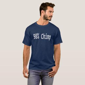 98% schimpansT-Shirt. Tee