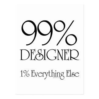 99% formgivare vykort