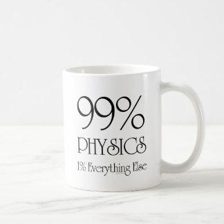 99% fysik kaffemugg