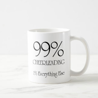 99% som Cheerleading Kaffemugg
