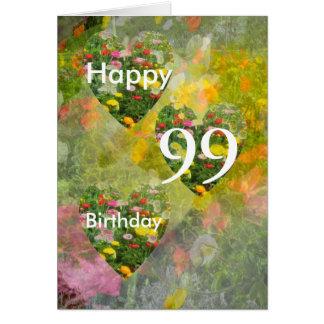 99th Födelsedag Hälsningskort