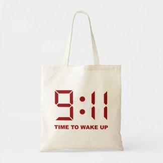 9:11tid att vakna upp tygkasse