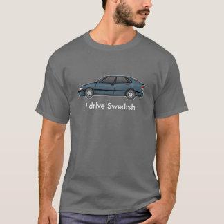 9-3S_frost kör jag svensk T Shirts