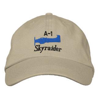 A-1 Skyraider (tända färg endast), Broderad Baseball Keps