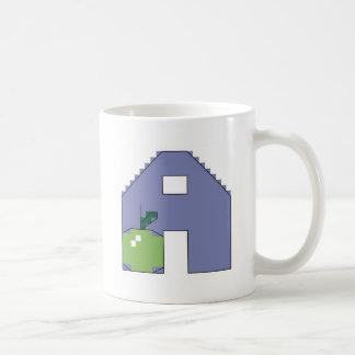 A är för äpple kaffemugg