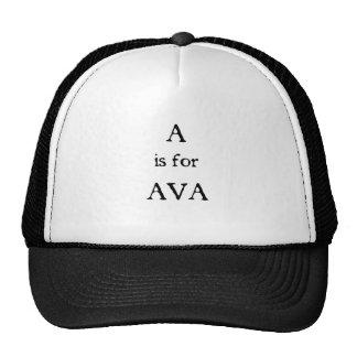 A är för Ava Keps