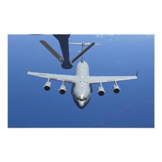 A.C. - 17 Globemaster III att närma sig bang Fototryck