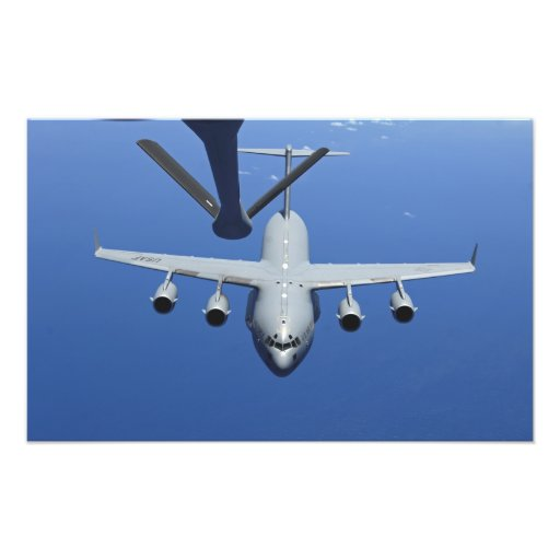 A.C. - 17 Globemaster III att närma sig bang Foton