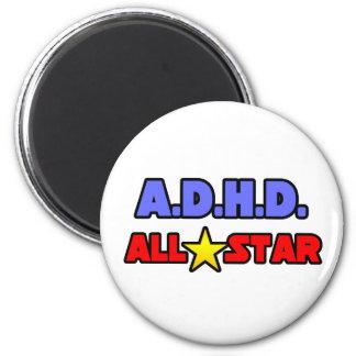 A.D.H.D. All stjärna Magneter För Kylskåp