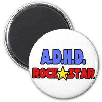 A.D.H.D. Rockstjärna Kylskåpsnagnet