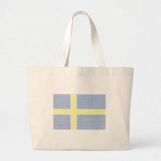 Å för svenskflaggaw + utfyllnadsgods - totot hänge jumbo tygkasse