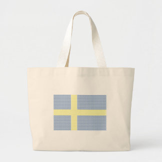 Å för svenskflaggaw + utfyllnadsgods - totot jumbo tygkasse