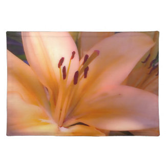 A - Härlig skuggad orange lilja Bordstablett