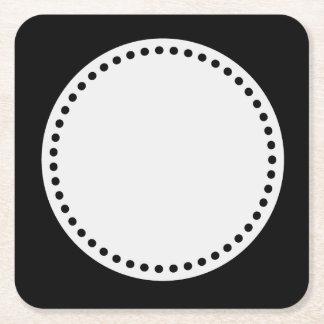 a underlägg papper kvadrat