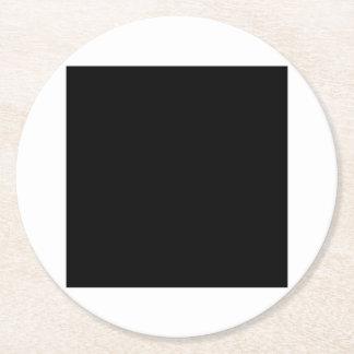 a underlägg papper rund