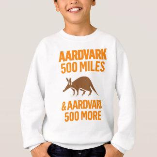Aardvark 500 Miles rolig vits Tee Shirts