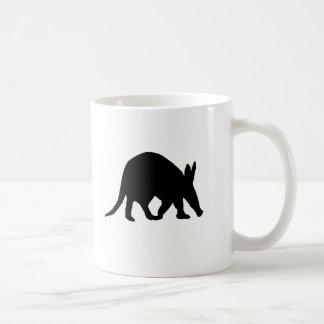 Aardvarksilhouette Kaffemugg