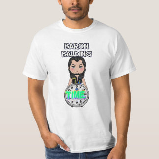 Aaw-Baron Bli skallig T-tröja T-shirts