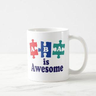 Aba-terapi är enorm kaffemugg