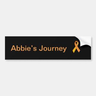 Abbies resa bildekal