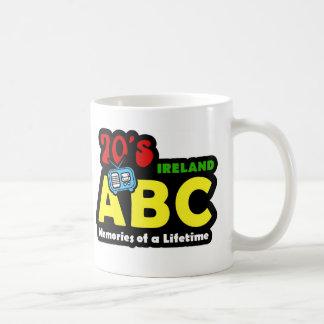 Abc-70-tal Irland radiosände Kaffemugg