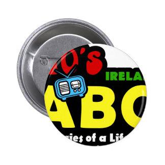 Abc-70-tal Irland radiosände Knapp Med Nål