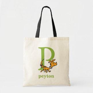 ABC för Dr. Seusss: Brev P - Grönt   tillfogar Budget Tygkasse