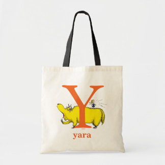 ABC för Dr. Seusss: Brev Y - Orangen   tillfogar Budget Tygkasse