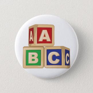 Abc-kvarter Standard Knapp Rund 5.7 Cm