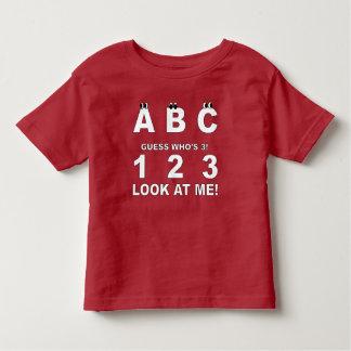 Abc-Look som är tryck 3 Tee Shirt