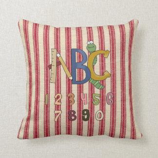 ABC & numrerar ungar den MoJo dekorativ kudde