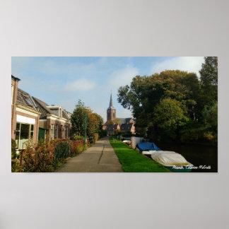 Abcoude Nederländerna Poster