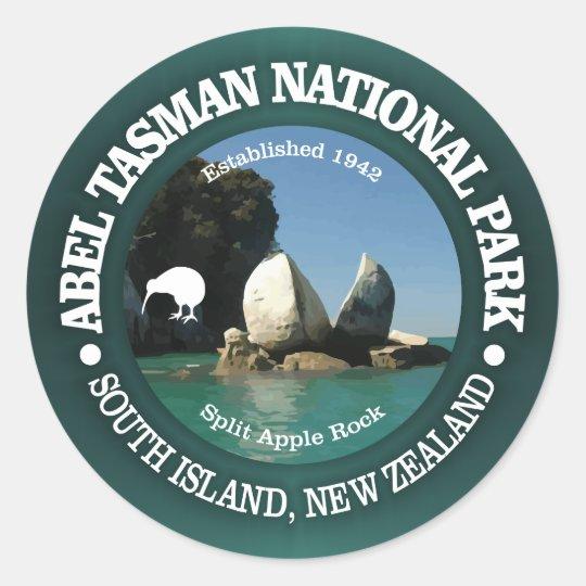 Abel Tasman NP Runt Klistermärke