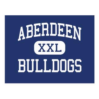 Aberdeen bulldoggmittet Aberdeen Vykort