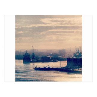 Aberdeen hamn vykort
