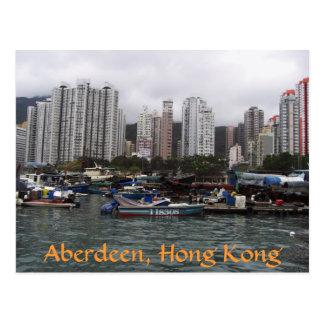Aberdeen Hong Kong Vykort