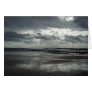 Aberdeen sjölandskap hälsningskort