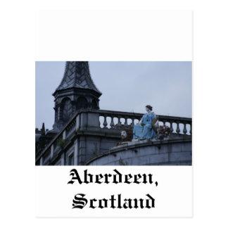 Aberdeen Skottland Vykort