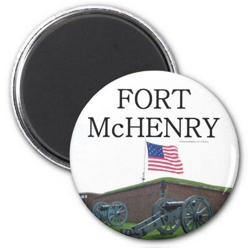ABH-fort McHenry Kylskåpmagneter