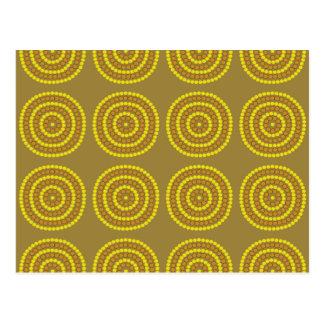 Aboriginal beige vykort