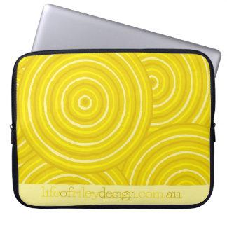 Aboriginal fodra målningdatorsleever laptopskydd