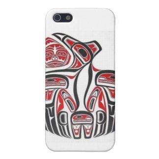 Aboriginal konstiphone case för Haida iPhone 5 Cases