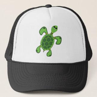 Aboriginal konstsköldpadda - autentisk Aboriginal Keps